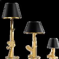 Nordic Modern Silvery Gold AK47 Gun Table Lamps Bedroom Bed Light LED Floor Lamps Kids Children Room Fixtures Home Loft Decor