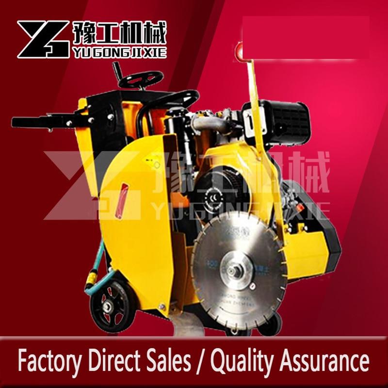 Gasoline Diesel Concrete Pavement Cutting Machine Efficient Time-saving Cutting Machine Manufacturer Direct Sales