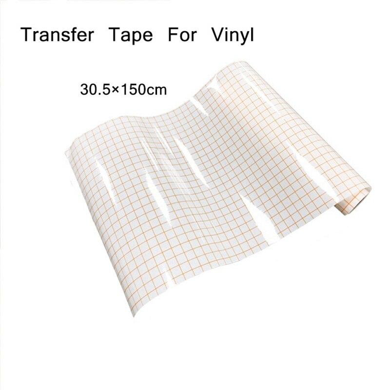Переводная бумага с сеткой-идеальное выравнивание Cameo или Cricut самоклеящаяся виниловая для наклеек, знаков, стен, окна переводная лента