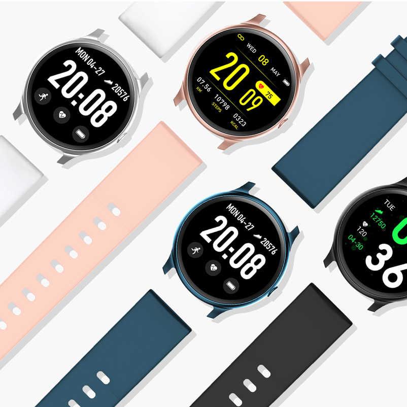 LIGE 2019 شاشة ملونة جديدة مقاوم للماء ساعة ذكية للنساء الرجال معدل ضربات القلب مراقبة ضغط الدم Smartwatch relogio inteligente