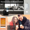 Beok Wireless Wifi Smart Thermostat for Gas Boiler Actuator Room Temperature Controller Works with Google Home Alexa USB Powered discount