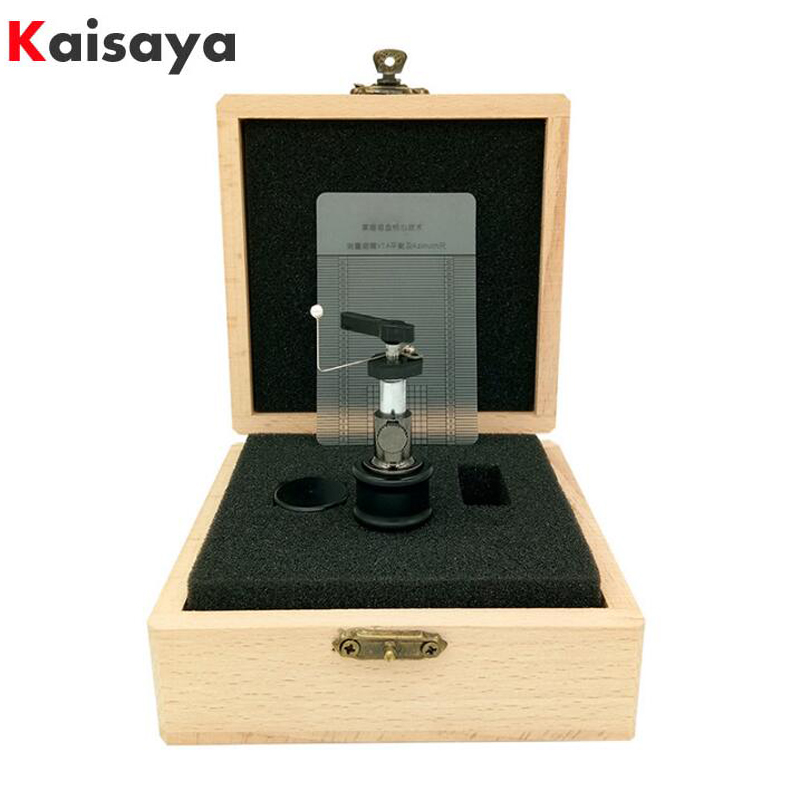 1pcs High-end Automatic Tonearm Lifter Arm Lift For LP Turntable Disc Vinyl Record Ruler With Wood Box Packaging T0889