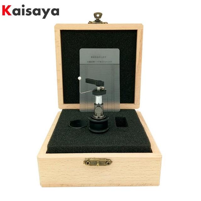 Elevador de brazo automático de alta gama para discos tocadiscos LP, regla de discos de vinilo con caja de madera, embalaje T0889, 1 Uds.