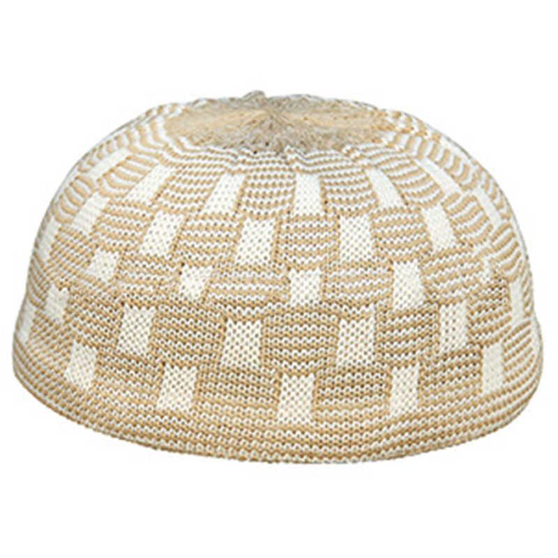 ชายมุสลิมหมวกอิสลามสวดมนต์หมวกถักสวมหมวกใหม่ 2020