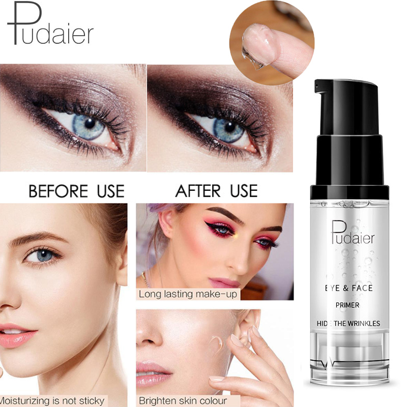 Pudaier 2019 Hot Face Eye Base Primer Eyeshadow Primer Makeup Natural Nude Moisturizer Foundation Primer Long-lasting Make Up image