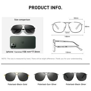 Image 5 - CAPONI 2020 männer Sonnenbrillen Fahren Polarisierte Brillen Marke Vintage Platz Anti Ray UV Schützen Sonnenbrille Für Männer CP0960