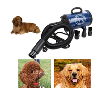 Bs2400 grooming secador para cães baixa noice secador de cão forte potência pet secador stepless velocidade para cães de secagem navio da rússia