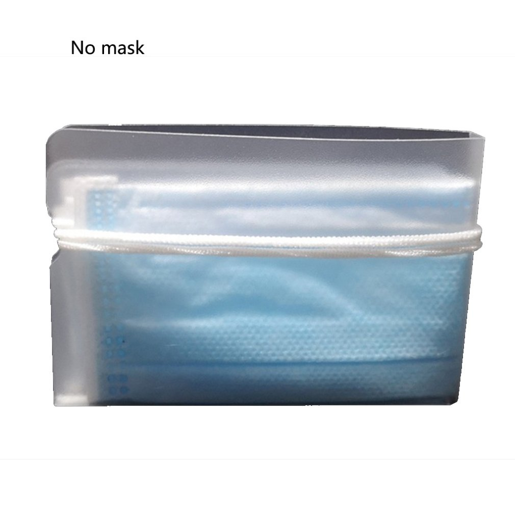 Mask Storage Clip Easy And Secure Storage Portable Design Universal Mask Storage Clip Mask Piece Transparent 10 Pcs