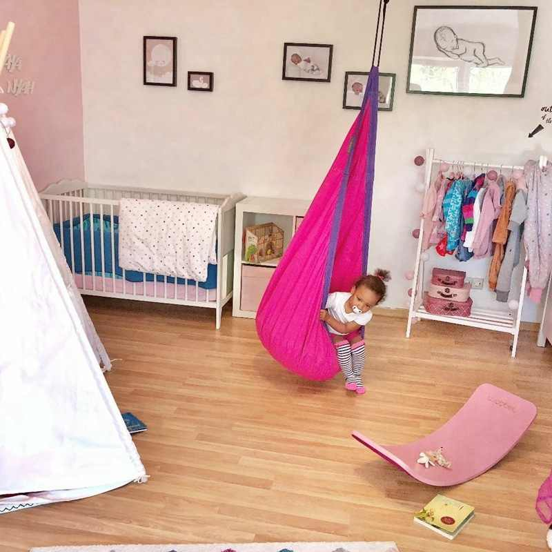 5 colors INS New Style Indoor Children Casual Swing Children Basket Room Decoration hanging tent  for indoor tent baby playing