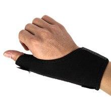 1 pz pollice medico elastico avvolgere Brace polso pollici mani Spica Splint supporto Brace stabilizzatore artrite allenamento uso