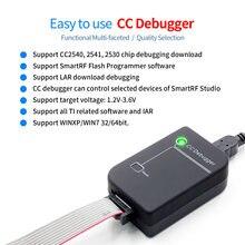 CC hata ayıklayıcı ZIGBEE emülatörü desteği çevrimiçi yükseltme orijinal kabuk orijinal kalite 2540 2541 2530 protokol analizi