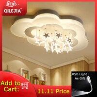 Simple modern ceiling lamp master bedroom lamp creative personality cloud lighting boy girl children room ceiling lamp