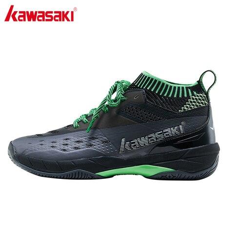 Tênis de Badminton Kawasaki Profissional Sapatos Quadra Indoor Sapato Esportivo Preto Anti-escorregadio Ninja Series K-560 K-359