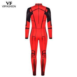 Image 3 - Vip moda nova deadpool cosplay trajes para homens macacão muscular cosplay super herói superman impresso quadrinhos zentai trajes