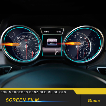 Per Mercedes Benz GLE W166 Coupe C292 2016-2018 Car Dashboard Pellicola Protettiva Dello Schermo Sticker Antigraffio Accessori