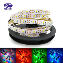 Usb Led Strip Licht Waterdichte Rgb Led Streep Computer Strip SMD5050/2835 5V Usb Tv Backlight Led Tape 1M Bande Lighting0.5/1/2 M(China)