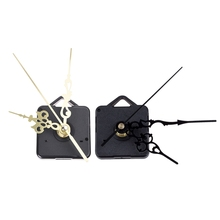Наручные кварцевые часы с механическим ходом золотистого цвета и DIY дизайн настенные часы