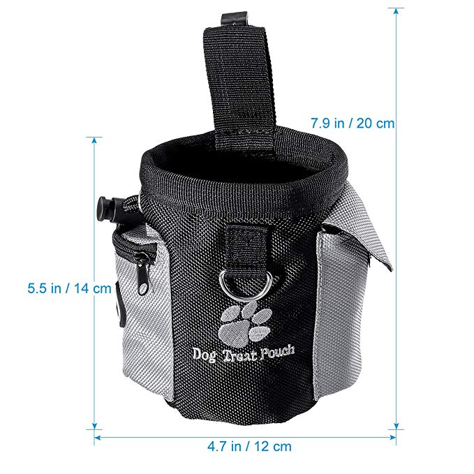 Basket - Pet Dog Treat Pouch Portable Dog Training Bags Treat Outdoor Feed Storage PouchHands Free Training Waist Bag Pet Product
