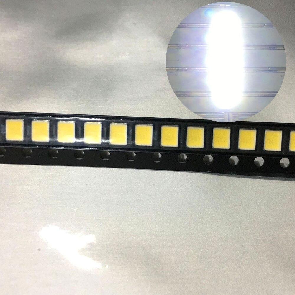 1000pcs/lot LED 2835 Pure White 1W 9V 105-110LM 6000-6500K LED Light Emitting Diode