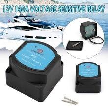 Tensione Sensibile Relè 12V 140A Dual Isolatore Batteria di Protezione del Relè VSR Tensione di Carica Diviso Per La Barca Automotive Marine