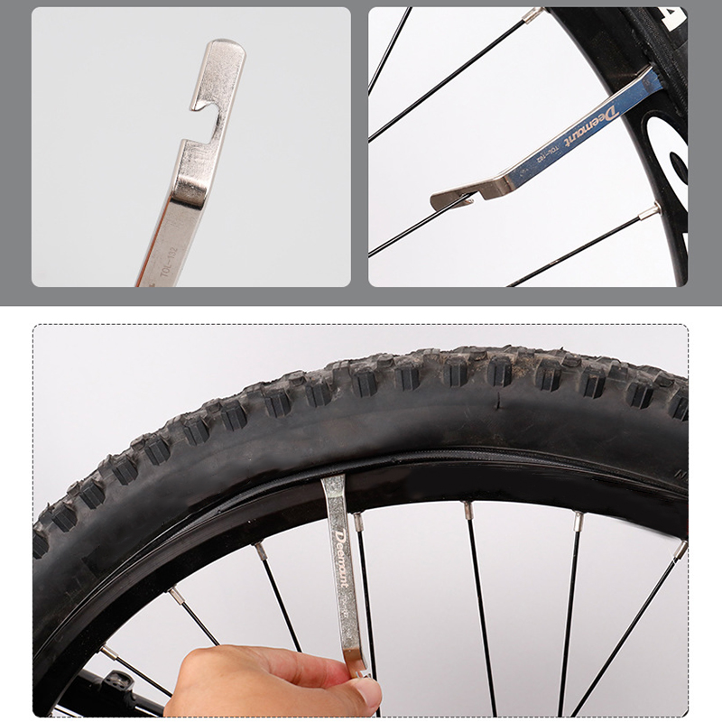 3Pcs Steel Tyre Tire Levers Tyre Bar Tools Set for Car Bicycle Cycle Bike