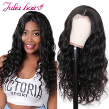 Ali Julia Hair 360 Lace Front Body Wave Wig Brazilian Remy Human Hair Wigs 150% 180% Density For Choice(China)