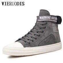 Мужская обувь с высоким берцем в стиле ретро; дышащая удобная обувь; Уличная обувь; трендовая обувь