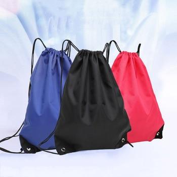 Водонепроницаемая складная сумка для тренажерного зала, рюкзак для фитнеса, Сумка с кулиской, Карманный Рюкзак для походов, кемпинга, пляжа,...
