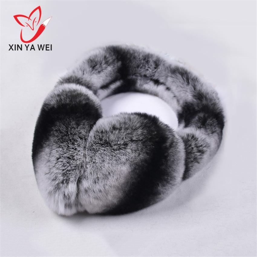 New Fur Solid Color Ladies Earmuffs Autumn And Winter Warm And Comfortable Unisex Ski Fur Cute Earmuff