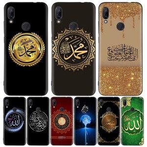 Image 1 - Arabo Musulmano Islamico Nero Del Modello Della Copertura Della Cassa Del Telefono per Xiaomi Redmi Nota 8T 10 9S 8 7 8A 7A 6A Mi 10 9 8 CC9 K20 Pro Lite Coque