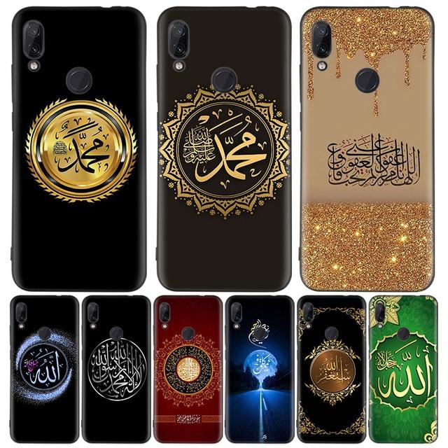 Arabo Musulmano Islamico Nero Del Modello Della Copertura Della Cassa Del Telefono per Xiaomi Redmi Nota 8T 10 9S 8 7 8A 7A 6A Mi 10 9 8 CC9 K20 Pro Lite Coque