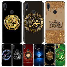 มุสลิมอิสลามรูปแบบสีดำสำหรับXiaomi Redmiหมายเหตุ8T 10 9 8 7 8A 7A 6A Mi 10 9 8 CC9 K20 Pro Lite Coque