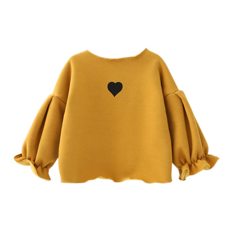Blouse Shirt Solid-Tops Velvet Toddler Autumn Lantern-Sleeve Girls Baby Kids Plus Casual