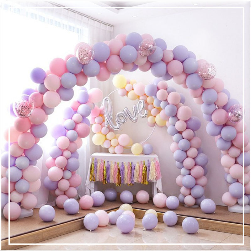 Fashion 5 Inch Helium Balloons Round Candy Latex Color Pastel Balloons Party Decoration For Birthday Party Supply 30pcs/Lot