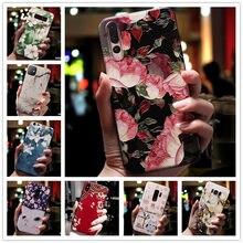 Für Lenovo S5 Pro Fall 3D Blume Relief Silikon Telefon Abdeckung Für Lenovo Z5 K5 Spielen K320T Z6 Pro K5S fällen Weiche Erleichterung S 5