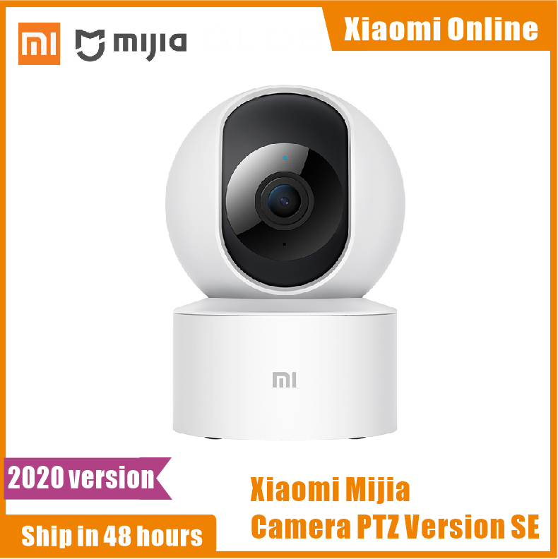 Newest Xiaomi Smart Camera PTZ Version SE 360 Horizontal Angle 1080P Infrared Night Vision AI Humanoid Detection For MI Home App|360° Video Camera|   - AliExpress