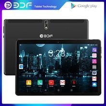 BDF – tablette PC 4G de 10 pouces, avec fonction appel téléphonique, Android 9.0 Core, double carte SIM, 2 go de ram et 32 go de rom, wi-fi, IPS, Google market, pour enfants