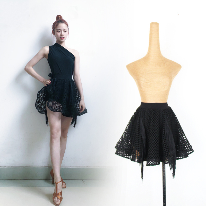 Latin Dance Costumes Female Big Swing Skirt Professional Latin Dance Costumes Performance Clothing Rumba Dance Skirt DQL2786