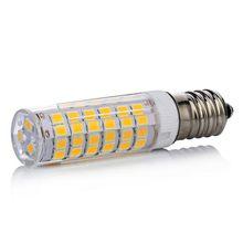 LED Light bulb G4 G9 E14 75leds 7W 220V SMD2835 for Ceramic candle lamps Chandelier Light