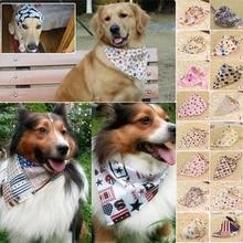 Fashion Pet Dog Scarf Collar Puppy Cat Cotton Triangular Neckerchief Bib Bandana