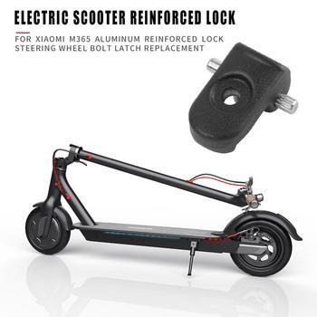 Cerradura reforzada duradera, diseño delicado, cerradura reforzada, pestillo de perno de volante para piezas de Scooter eléctrico Xiaomi M365
