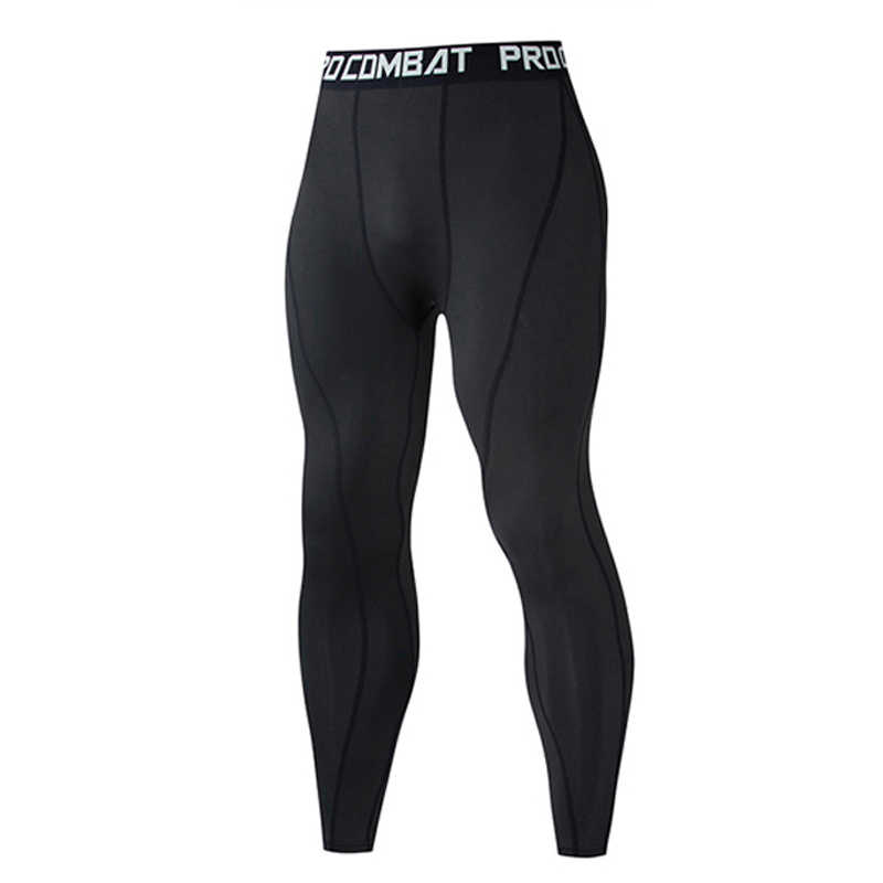Men S Sports Leggings Black Compression Pants High Elastic Running Tights Basketball Leggings Sweatpants Fitness Long Trousers Running Tights Aliexpress
