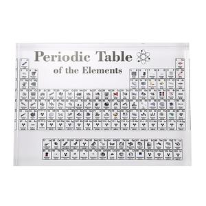 Table-Display Elements Teacher Periodic with Chemical-Craft-Decoration Gifts Acrylic