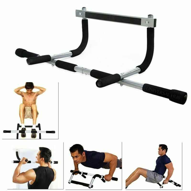 Iron Gym Total Upper Body Workout Bar Doorway Pull Up Chin Up Sit Up Strength Exercise Fitness Home Gym Aliexpress