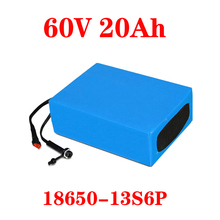 LiitoKala E-bike battery 60V 20ah 25ah 30ah 15Ah li-ion battery pack bike conversion kit bafang 1000w BMS High power protection liitokala 18650 battery 36v 25ah 30ah 20ah 15ah lithium battery electric motorcycle bicycle scooter with bms