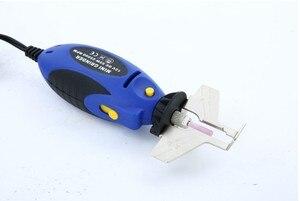Image 2 - Mini Kettensäge Kette 12V Kettensäge Spitzer Grinder Hohe Qualität Elektrische Grinder Datei Tools Power Tool