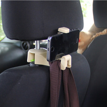 Автомобильный многофункциональный заднем сиденье крючок держателя телефона для Mazda 2 3 5 6 CX-3 CX-4 CX-5 CX5 CX-7 CX-9 Atenza Axela