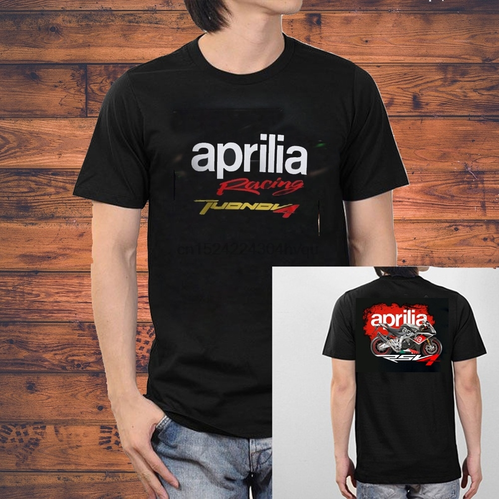 100% Cotton Aprilia Motard SUPERCROSS Men T-SHIRT women tshirt