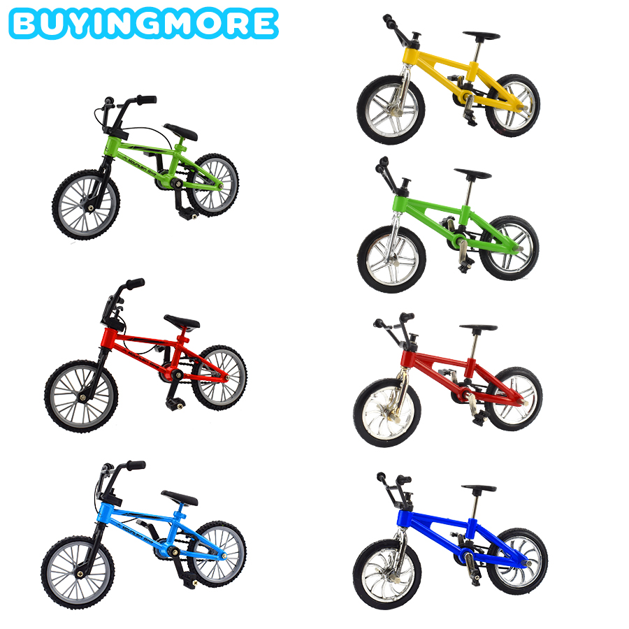1 PCS Finger BMX Mini Bike Alloy Kids Toys For Boys Extreme Sport Metal Mini BMX Mountain Bicycles Model Toys For Children Gifts