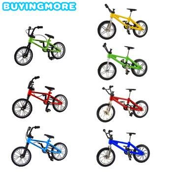 1 Uds. Mini bicicleta BMX de aleación para niños, juguetes para niños, deportes extremos, Metal Mini BMX, montaña, modelo de bicicletas, juguetes para niños, regalos